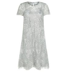 Silver Rose Dress