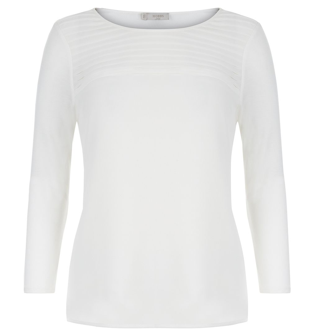 Hobbs Hobbs Anna Top, Cream