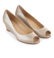 Hobbs Viv Peep Toe Wedge