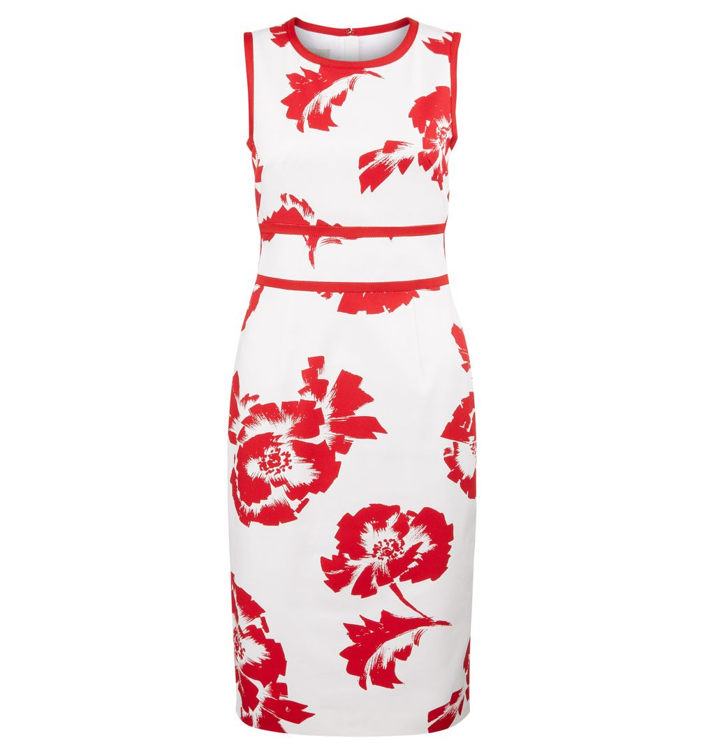 Hobbs Hobbs Isidora Dress, Red