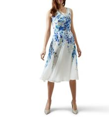 Hobbs Painted Delph Dress