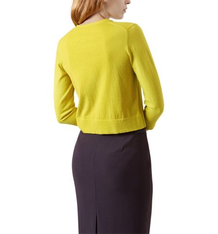 Yellow Cardigan House Of Fraser 106