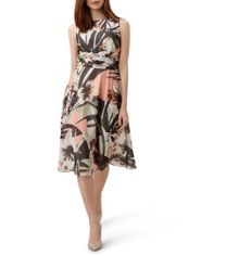 Hobbs Palm Dress