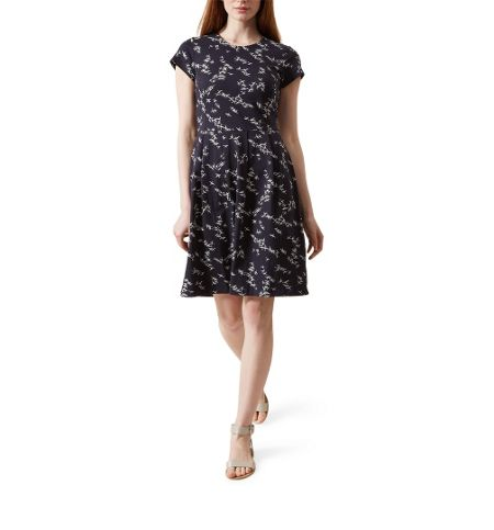 Hobbs Karen Printed Dress