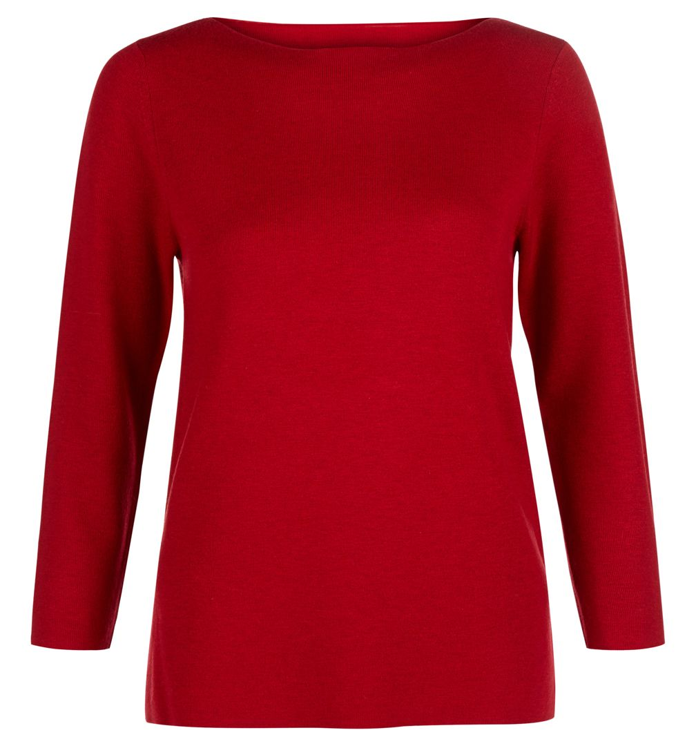 Hobbs Hobbs Cesci Sweater, Red
