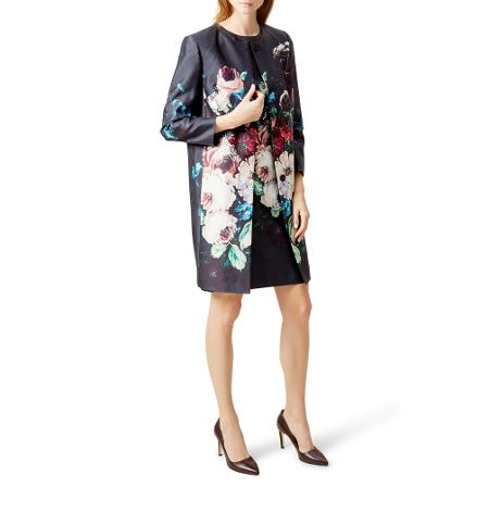Hobbs Painted Blooms Coat