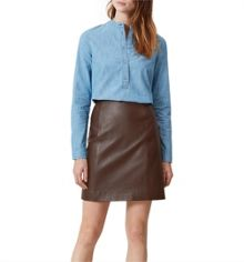 Hobbs Nena Leather Skirt