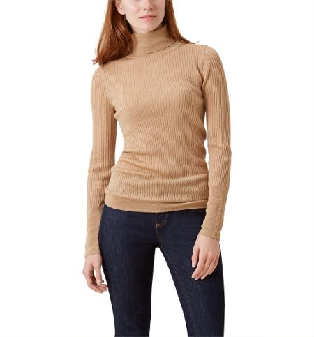 Hobbs Lara Ribb Roll Neck