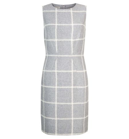 Hobbs Cherre Check Dress