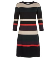 Hobbs Fern Stripe Dress