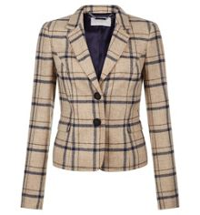 Hobbs Tiffany Check Jacket