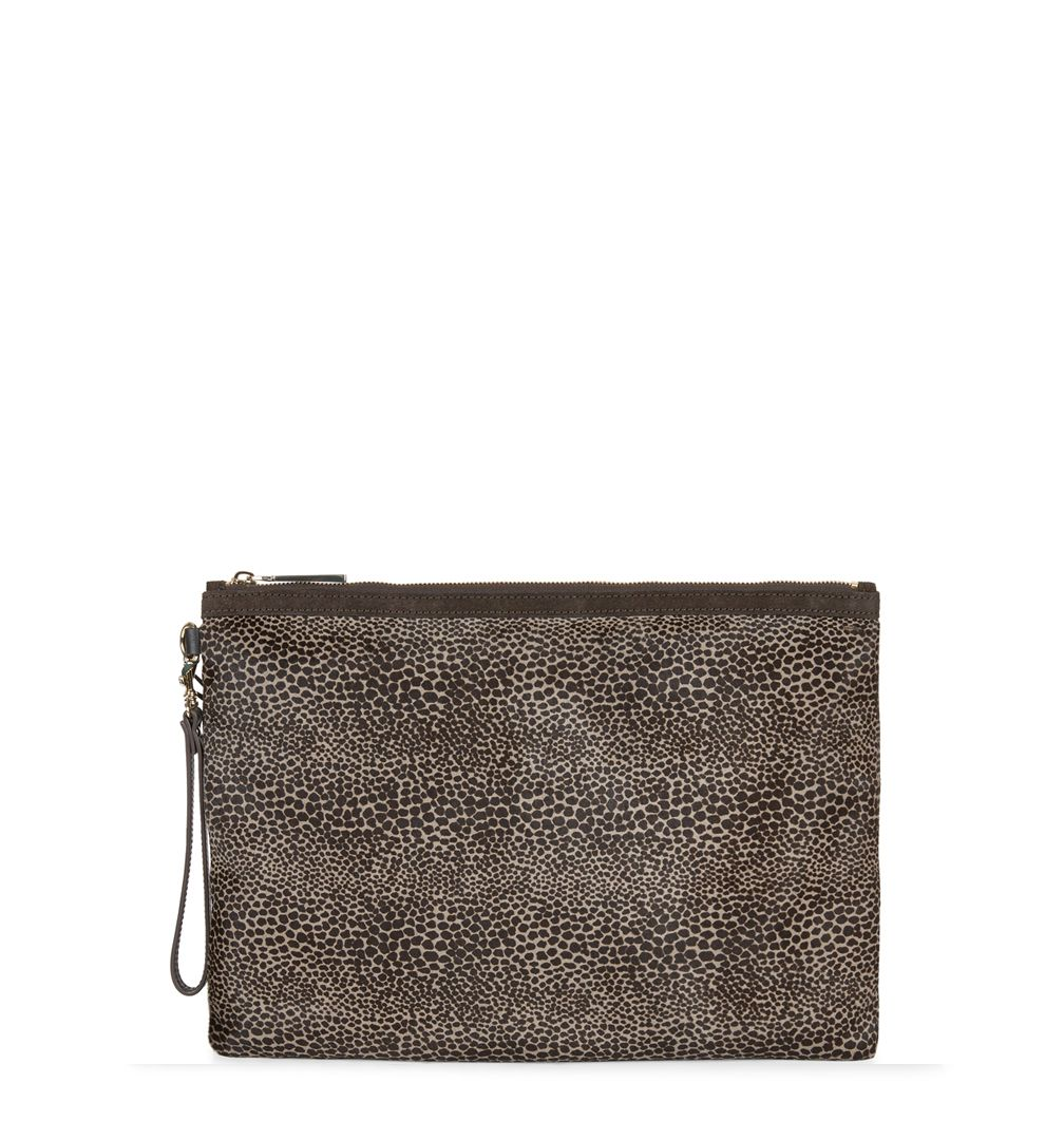 Hobbs Hobbs Liv Clutch Bag, Grey