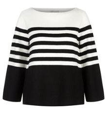 Hobbs Harbour Stripe Sweater
