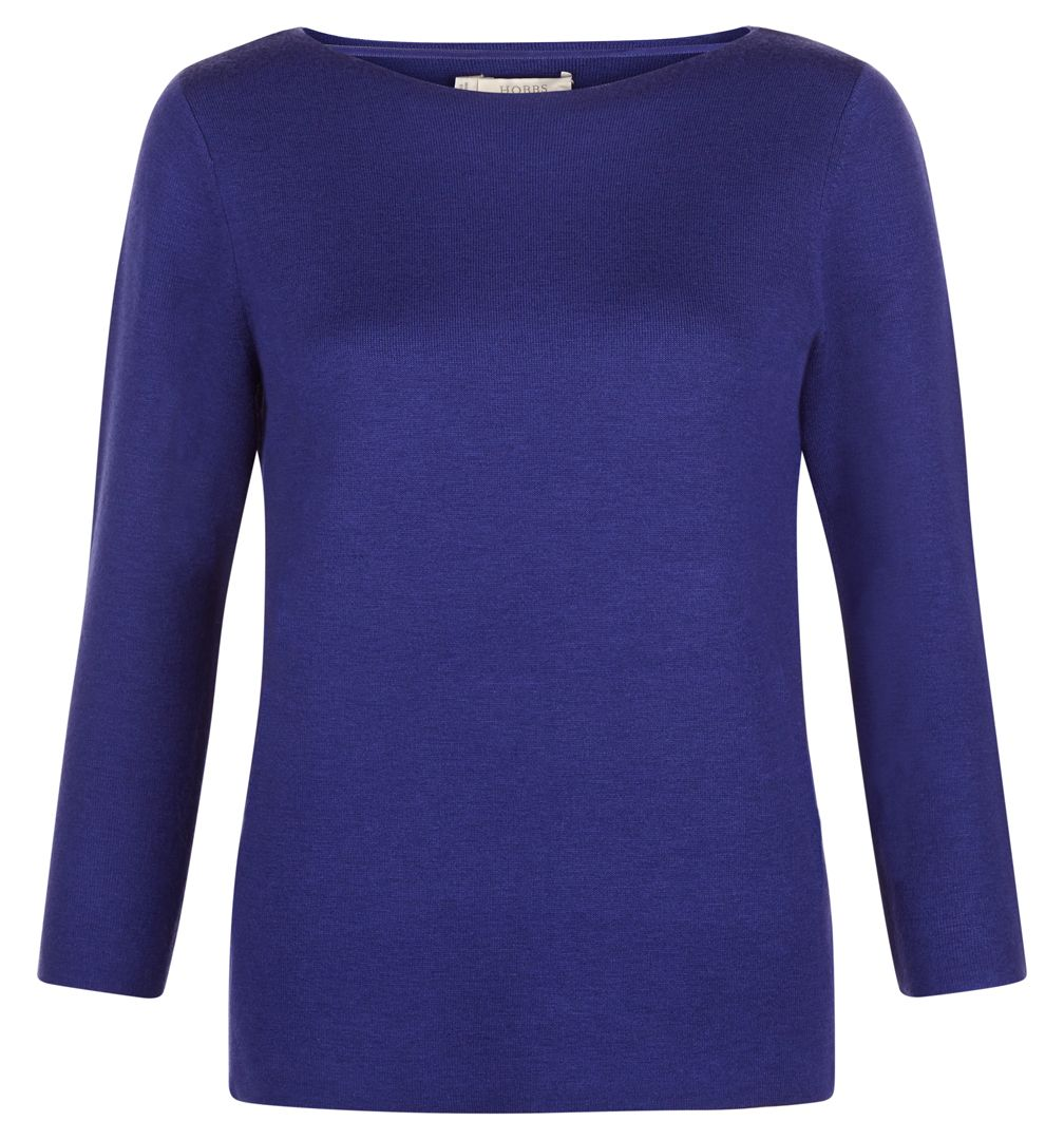 Hobbs Hobbs Cesci Sweater, Blue