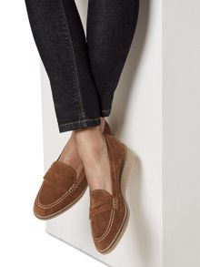 Hobbs Hattie Crepe Loafer