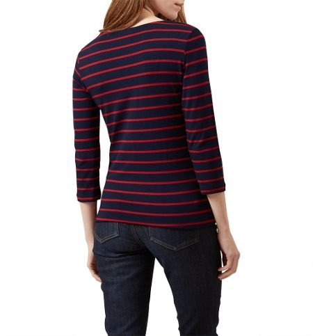 Hobbs Stripe Sophie Top
