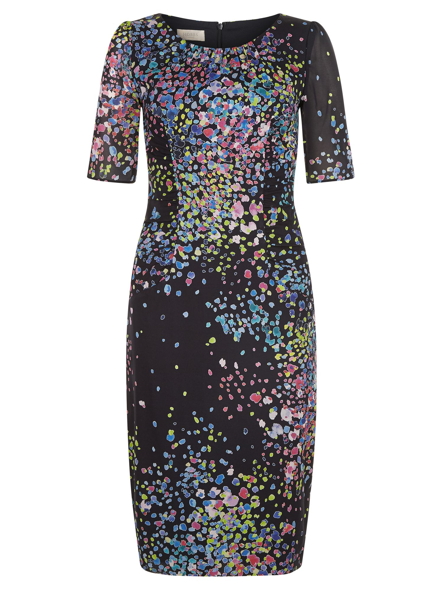 Hobbs Lauren Dress, Multi-Coloured