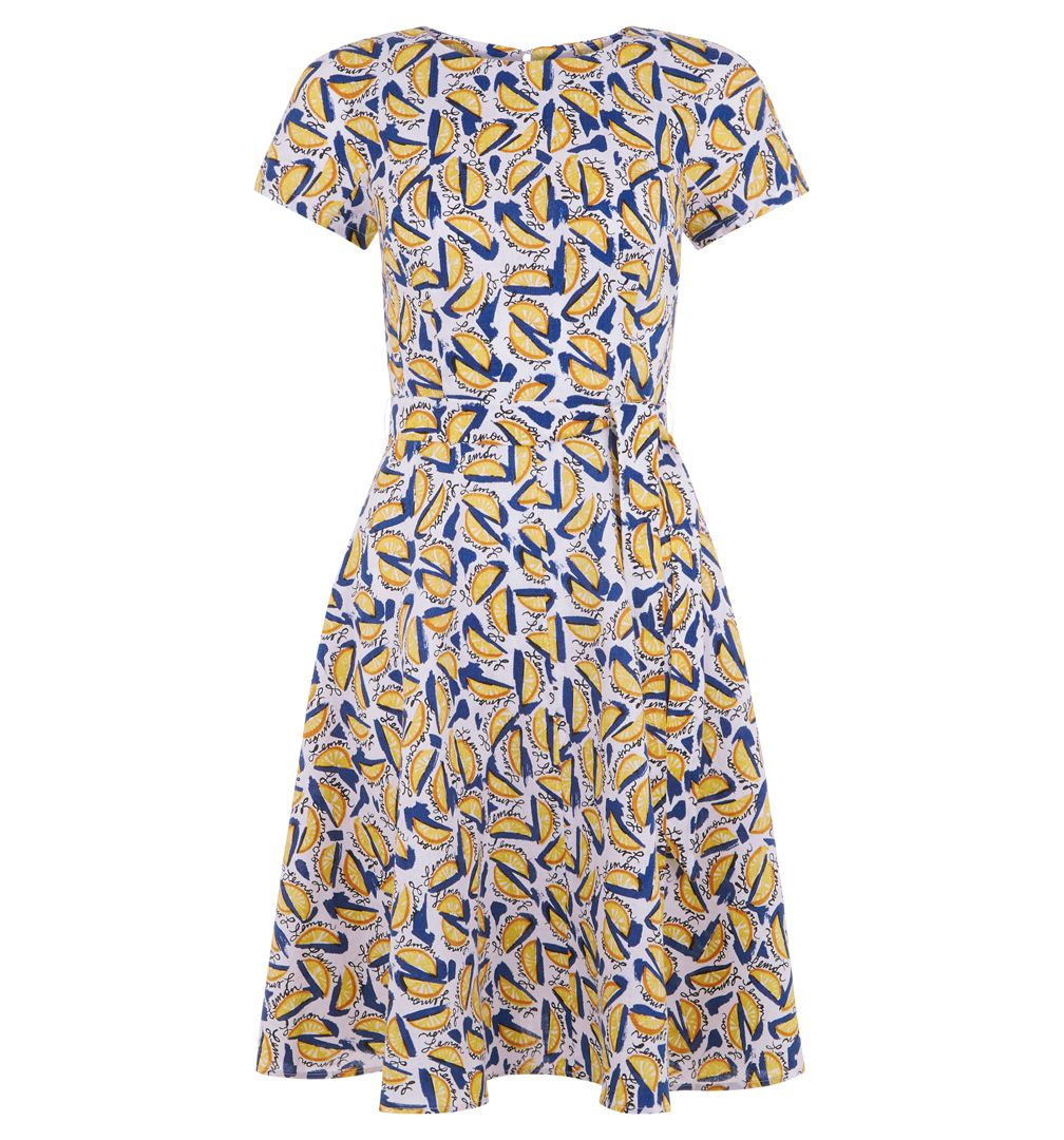 Hobbs Sorrento Dress, Multi-Coloured