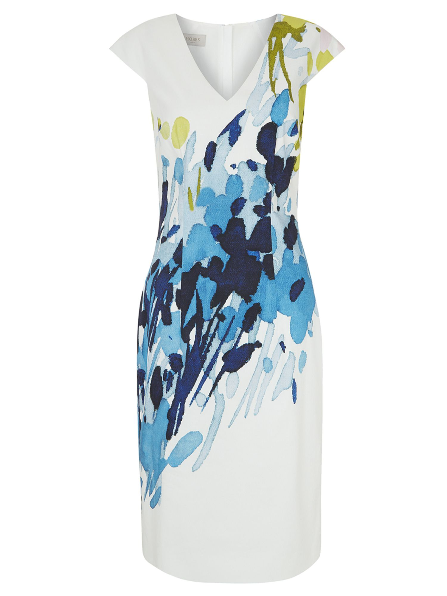 Hobbs Jennifer Dress, Multi-Coloured