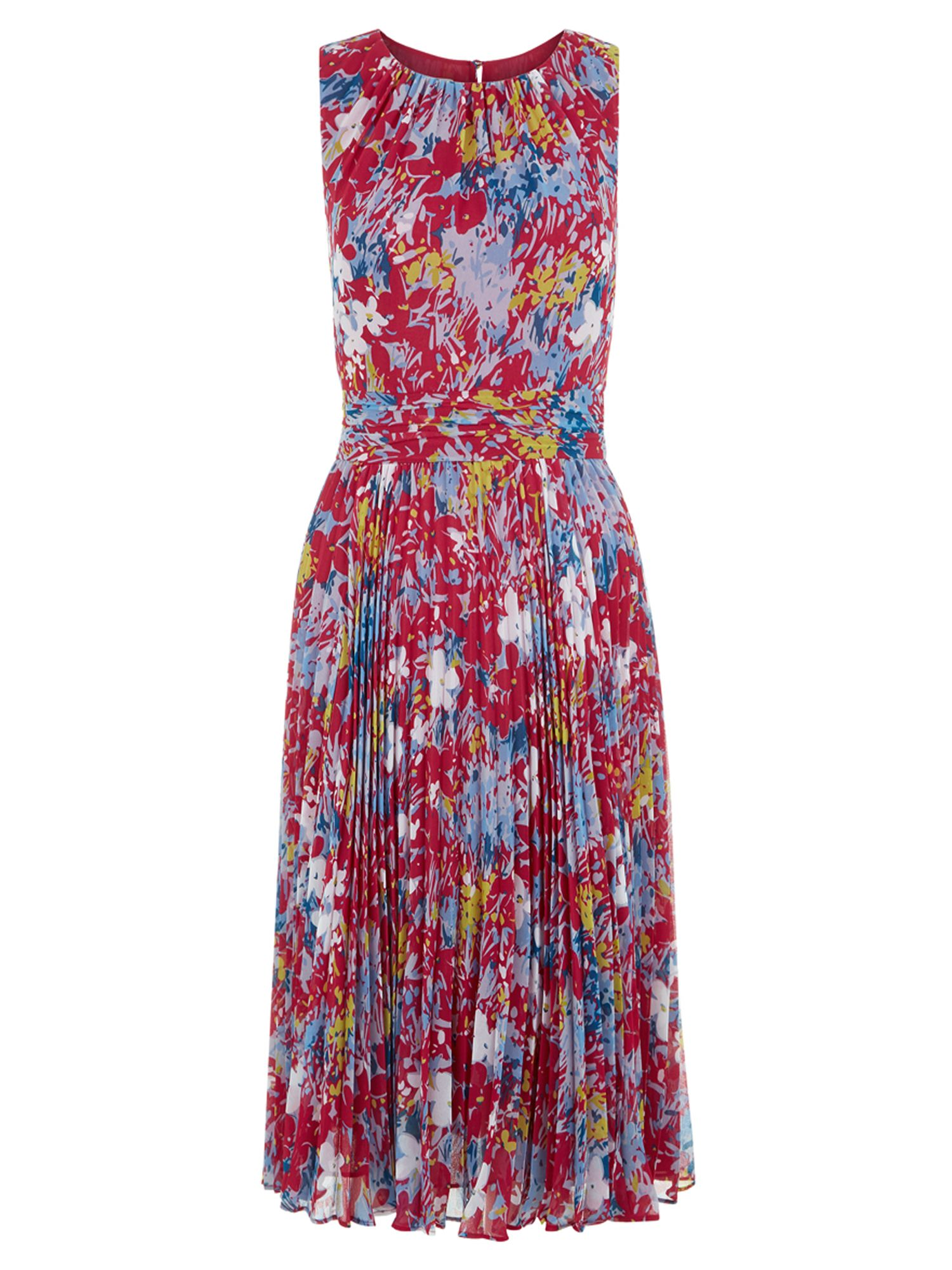 Hobbs Meera Dress, Multi-Coloured