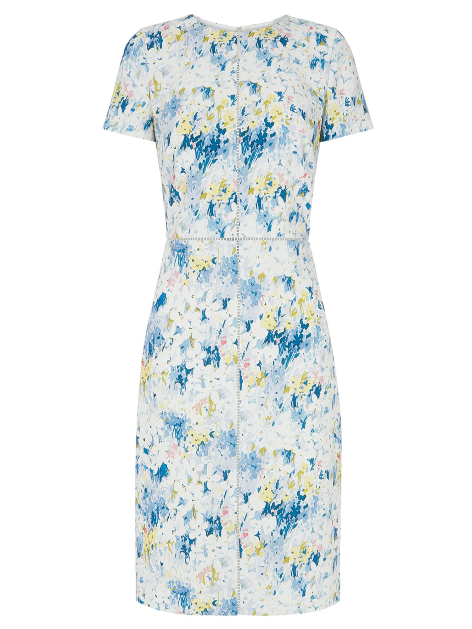 Hobbs Alaina Dress, Multi-Coloured