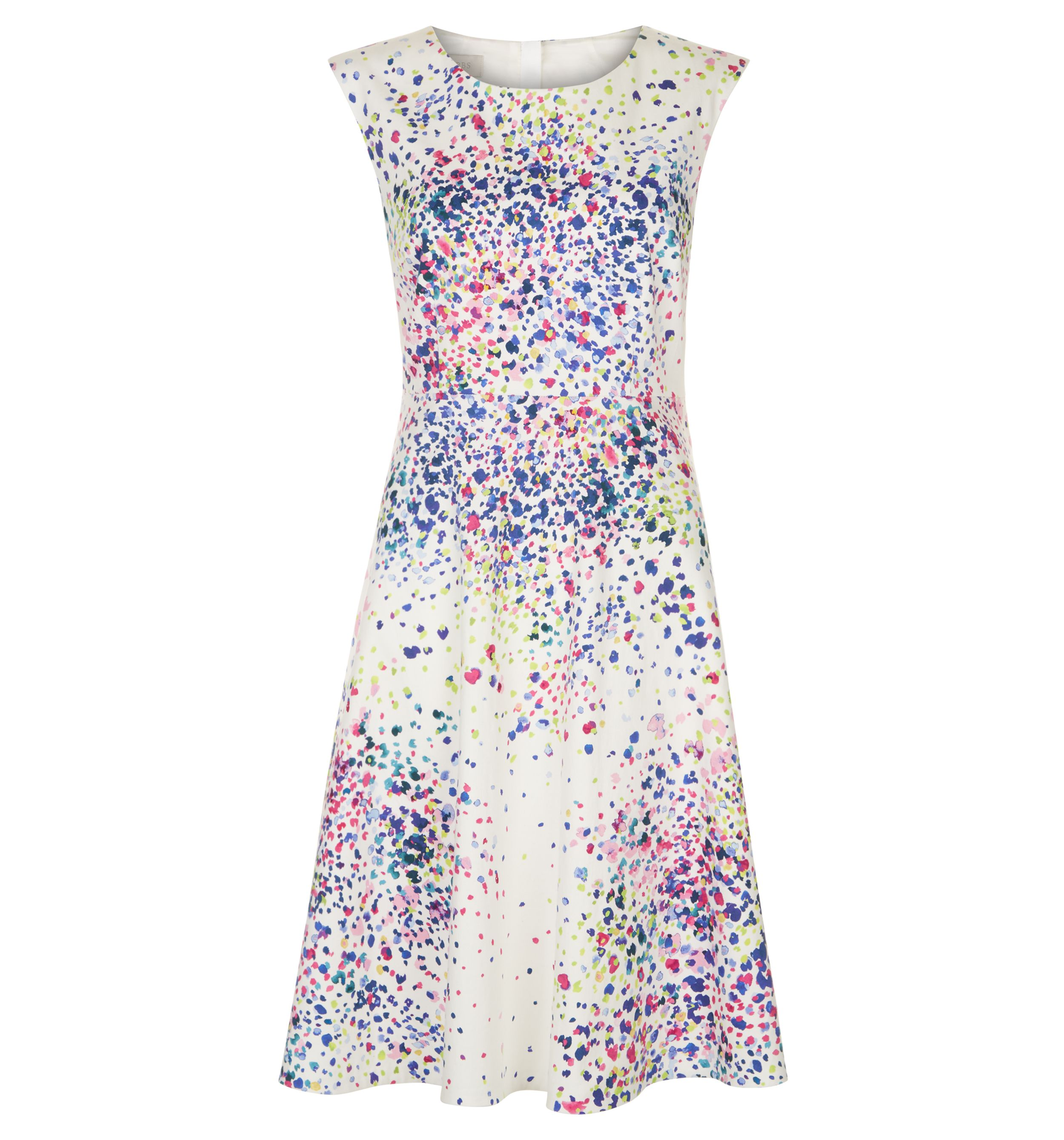 Hobbs Nova Dress, Multi-Coloured