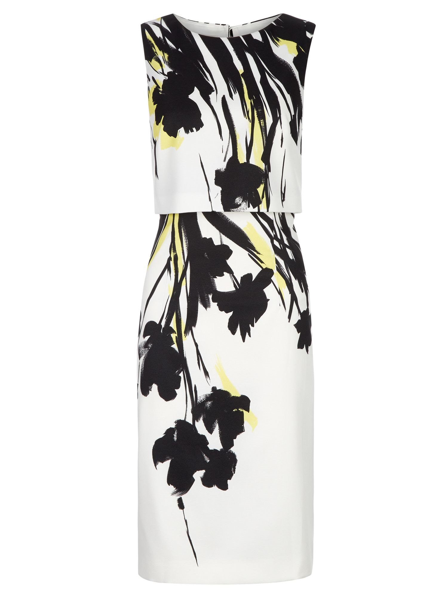 Hobbs Bree Dress, Multi-Coloured