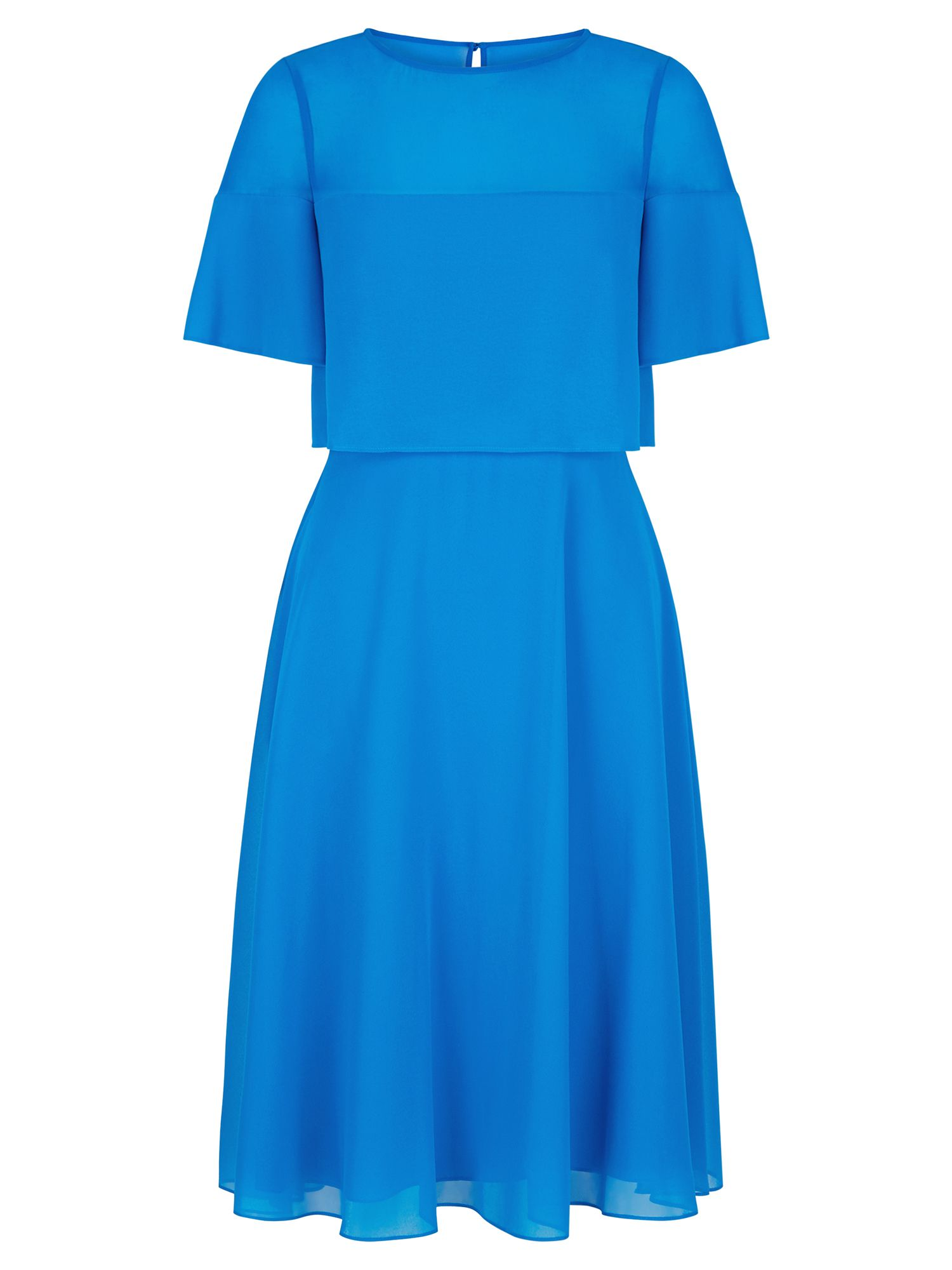 Hobbs Emmeline Dress, Blue