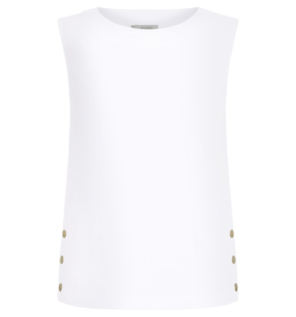 Hobbs Tilly Vest, White