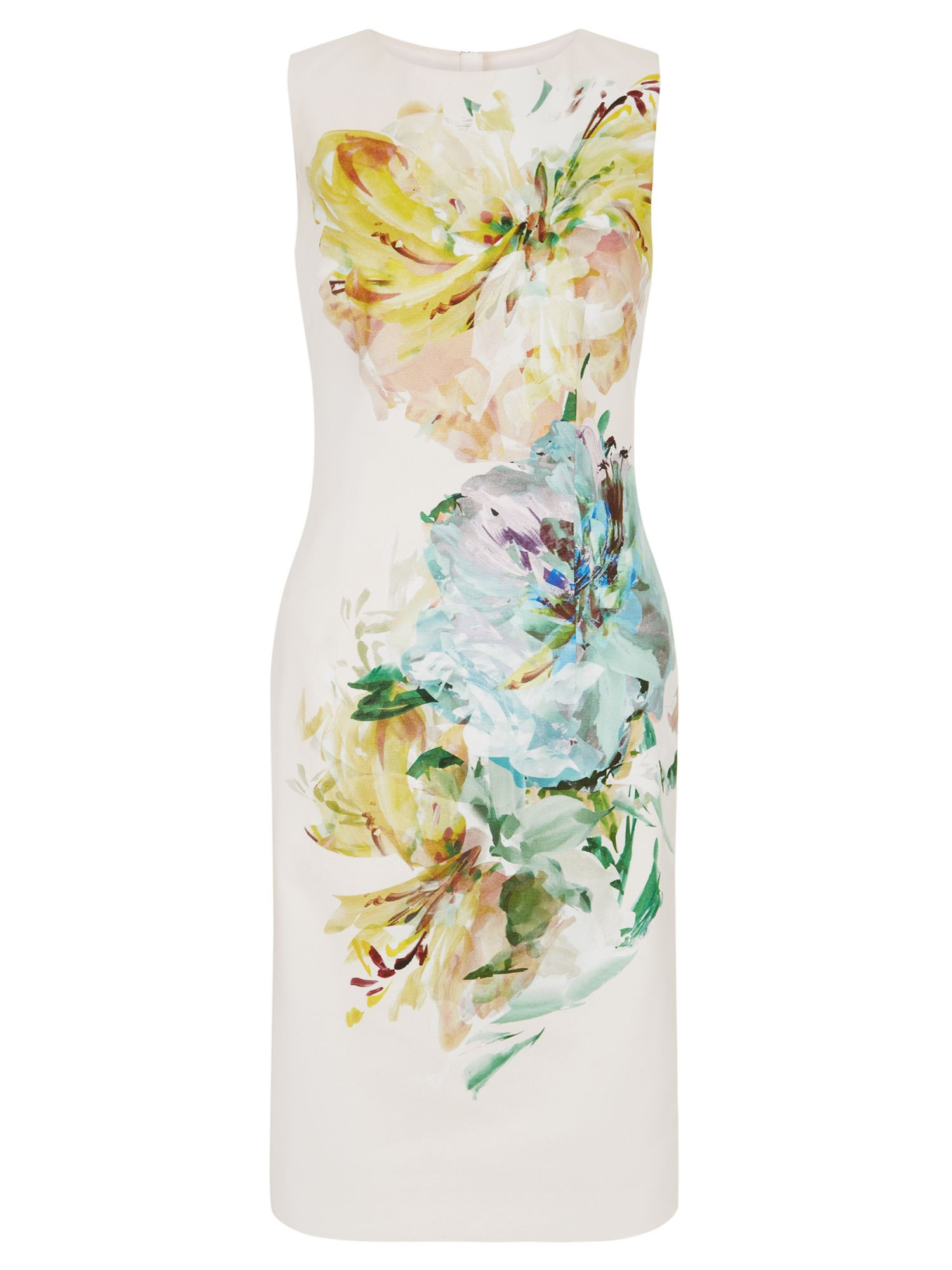 Hobbs Priscilla Dress, Multi-Coloured