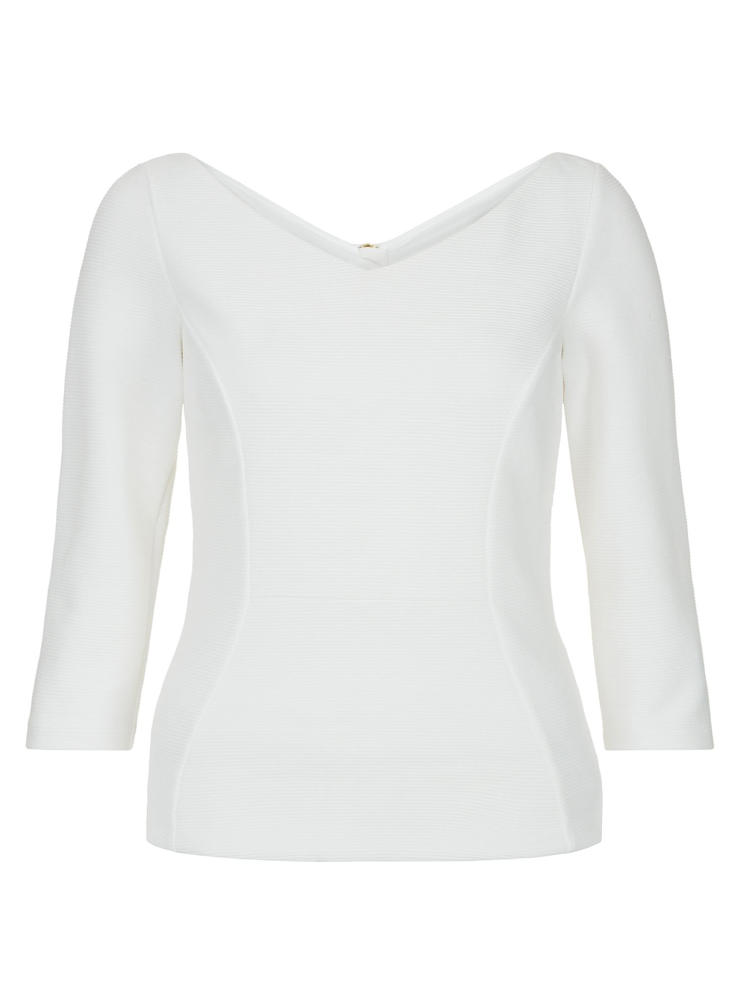 Hobbs Clemence Top, Cream