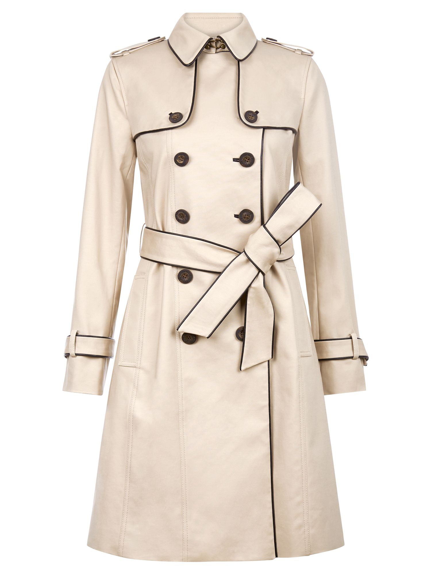 Hobbs Imogen Trench, Black