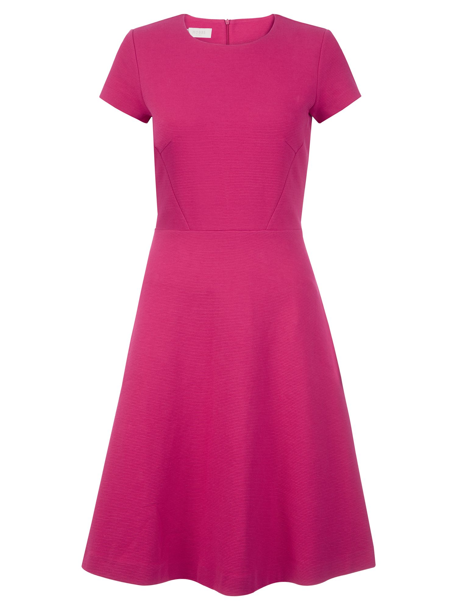 Hobbs Matilda Dress, Dark Pink