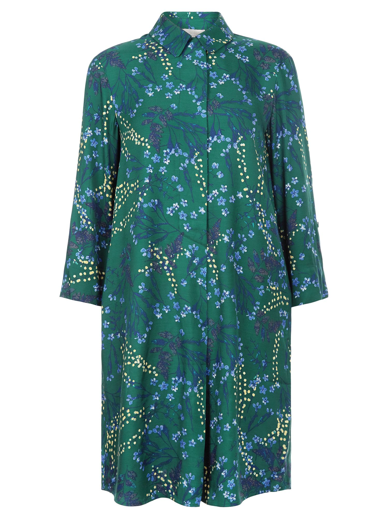 Hobbs Marci Dress, Green