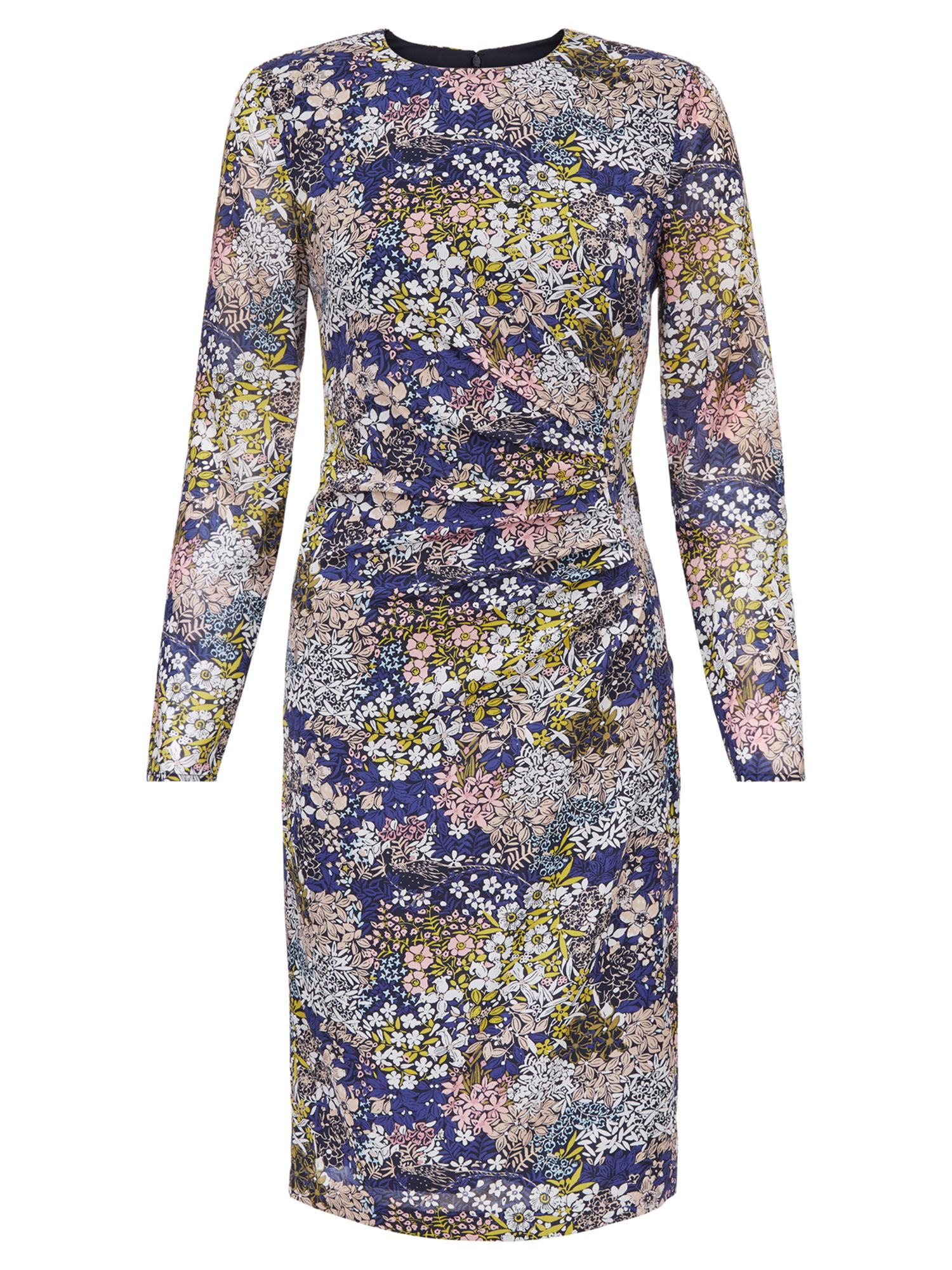 Hobbs Merida Dress, Multi-Coloured