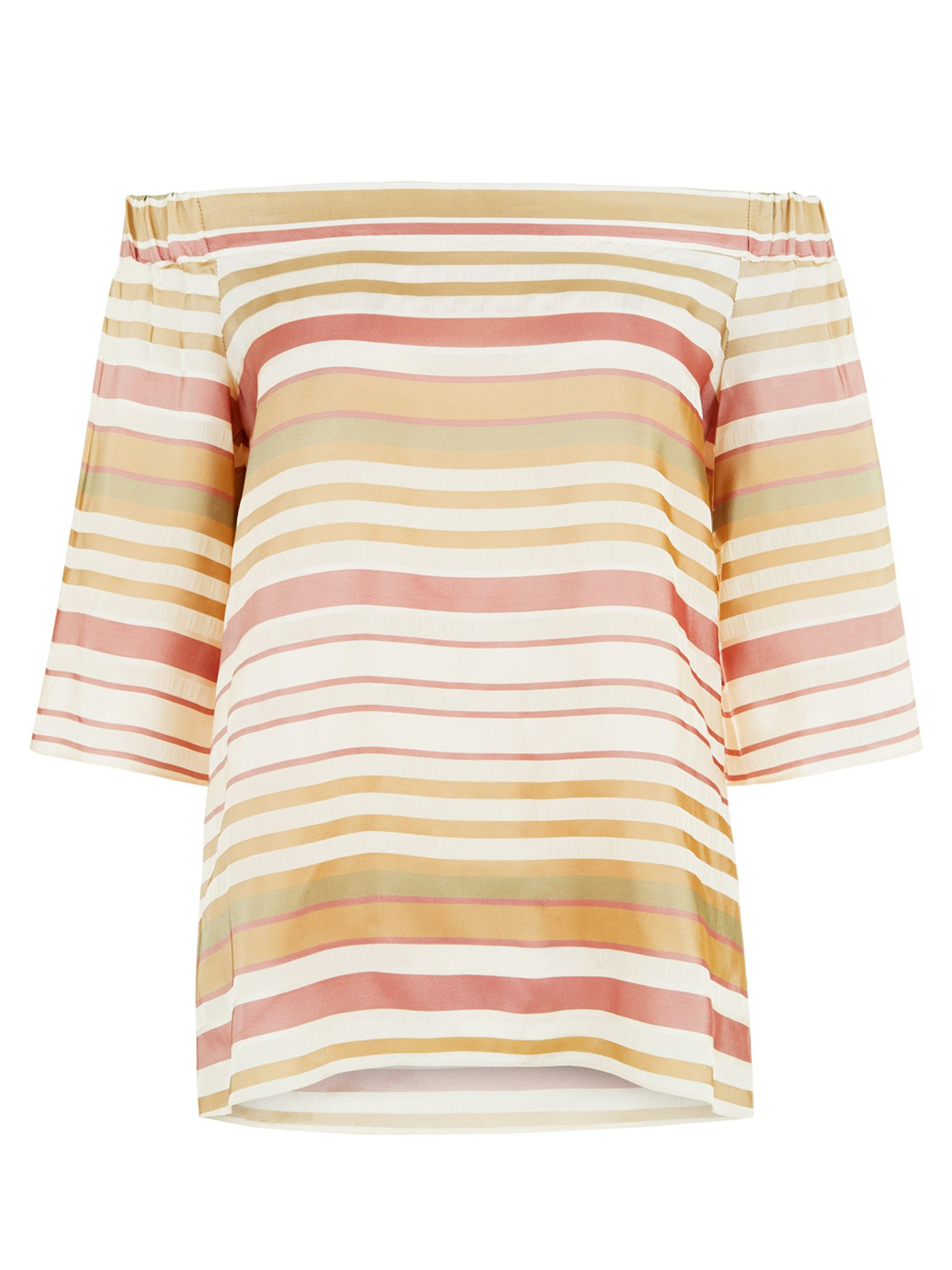 Hobbs Elsie Top, Multi-Coloured