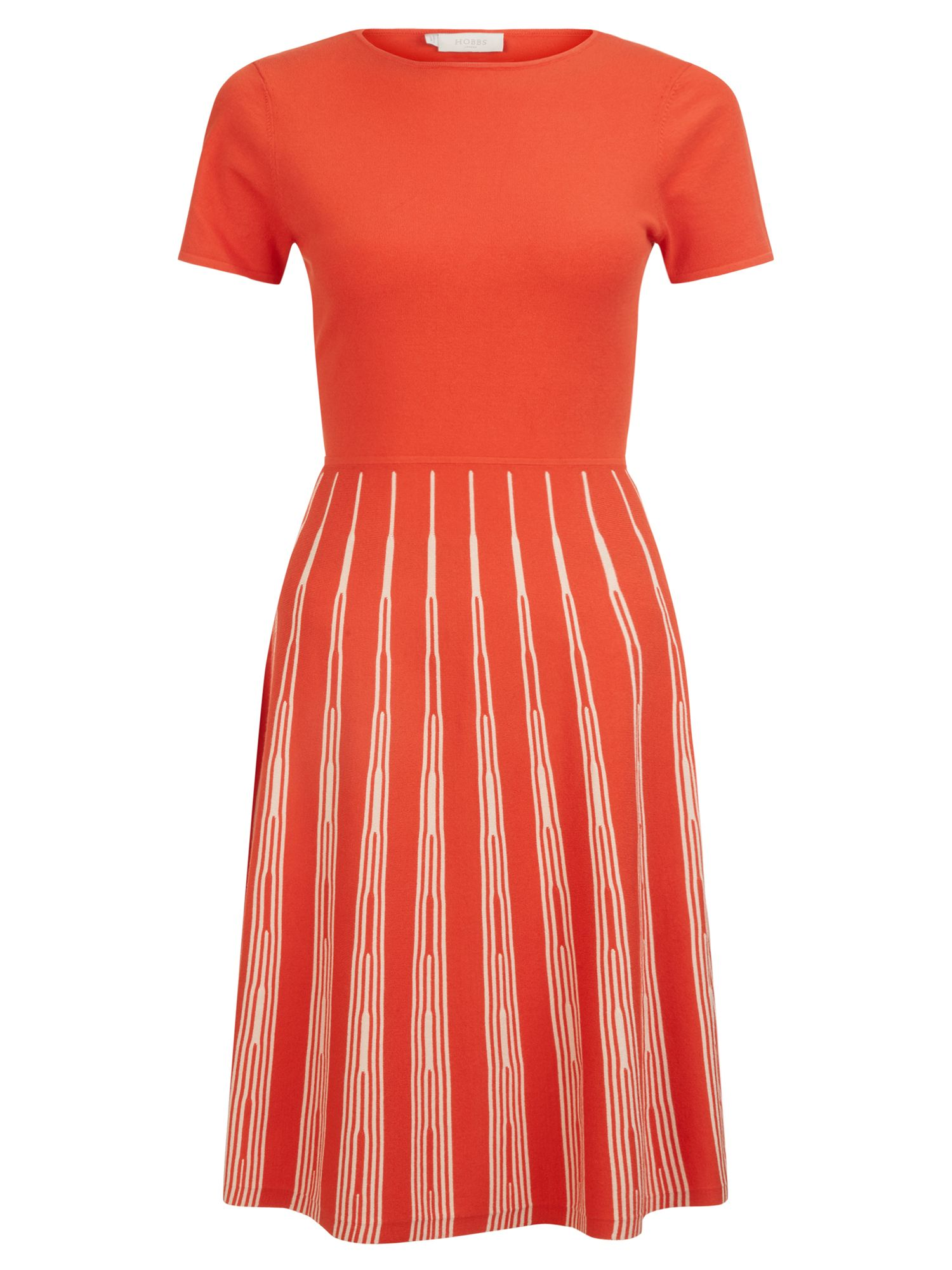 Hobbs Marlia Dress, Multi-Coloured