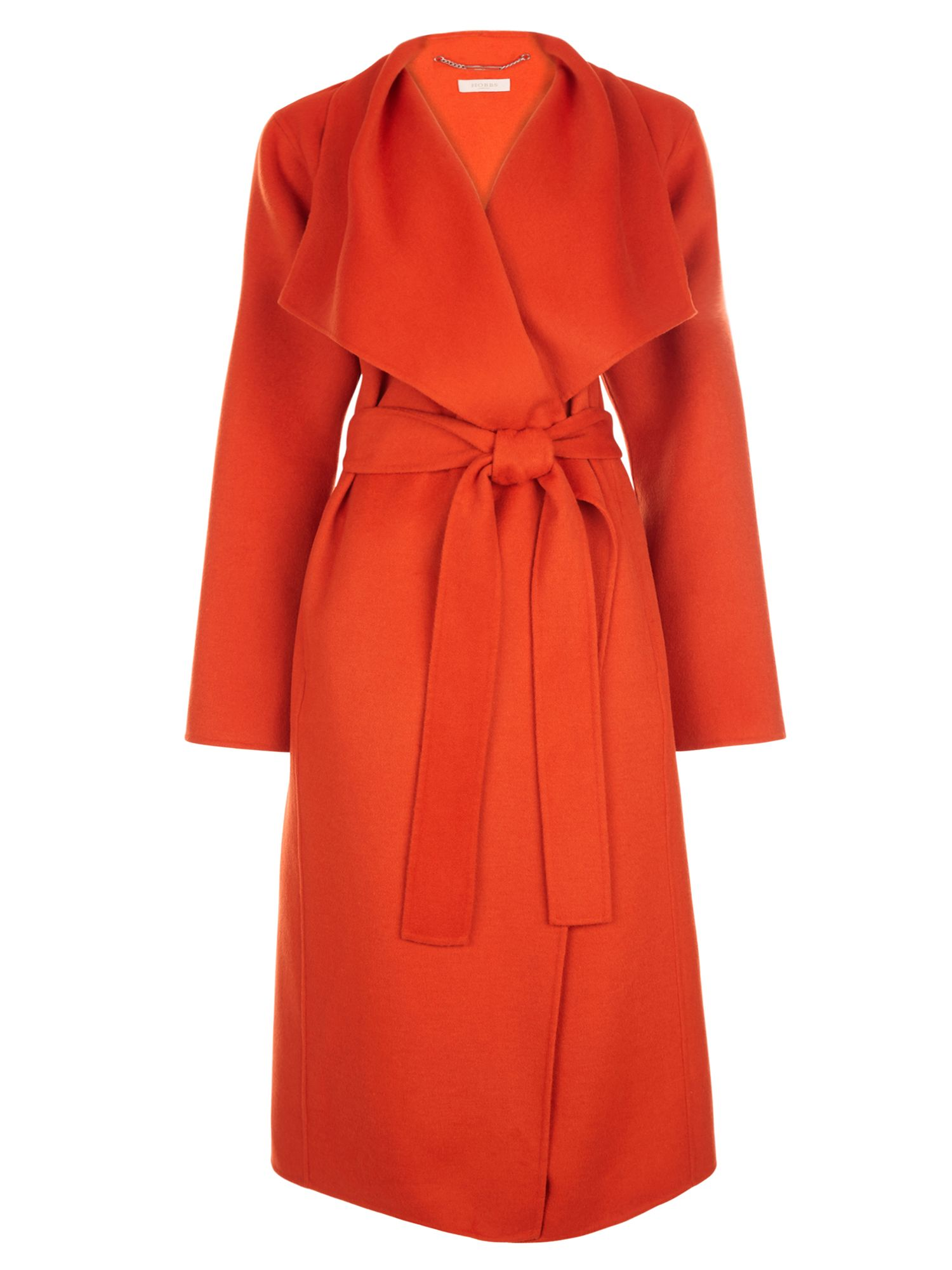 Hobbs Odelia Coat, Orange