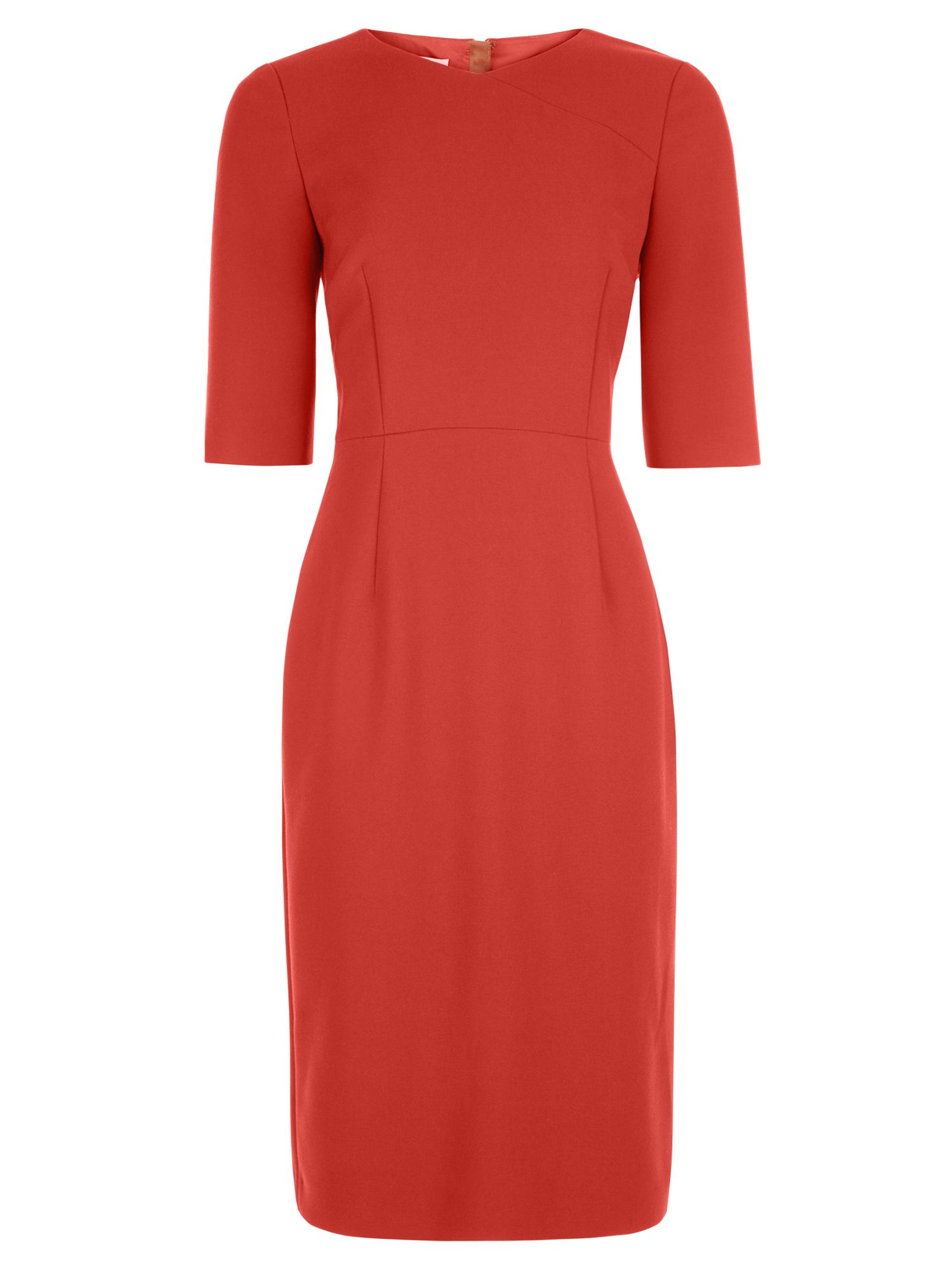 Hobbs Karissa Dress, Orange