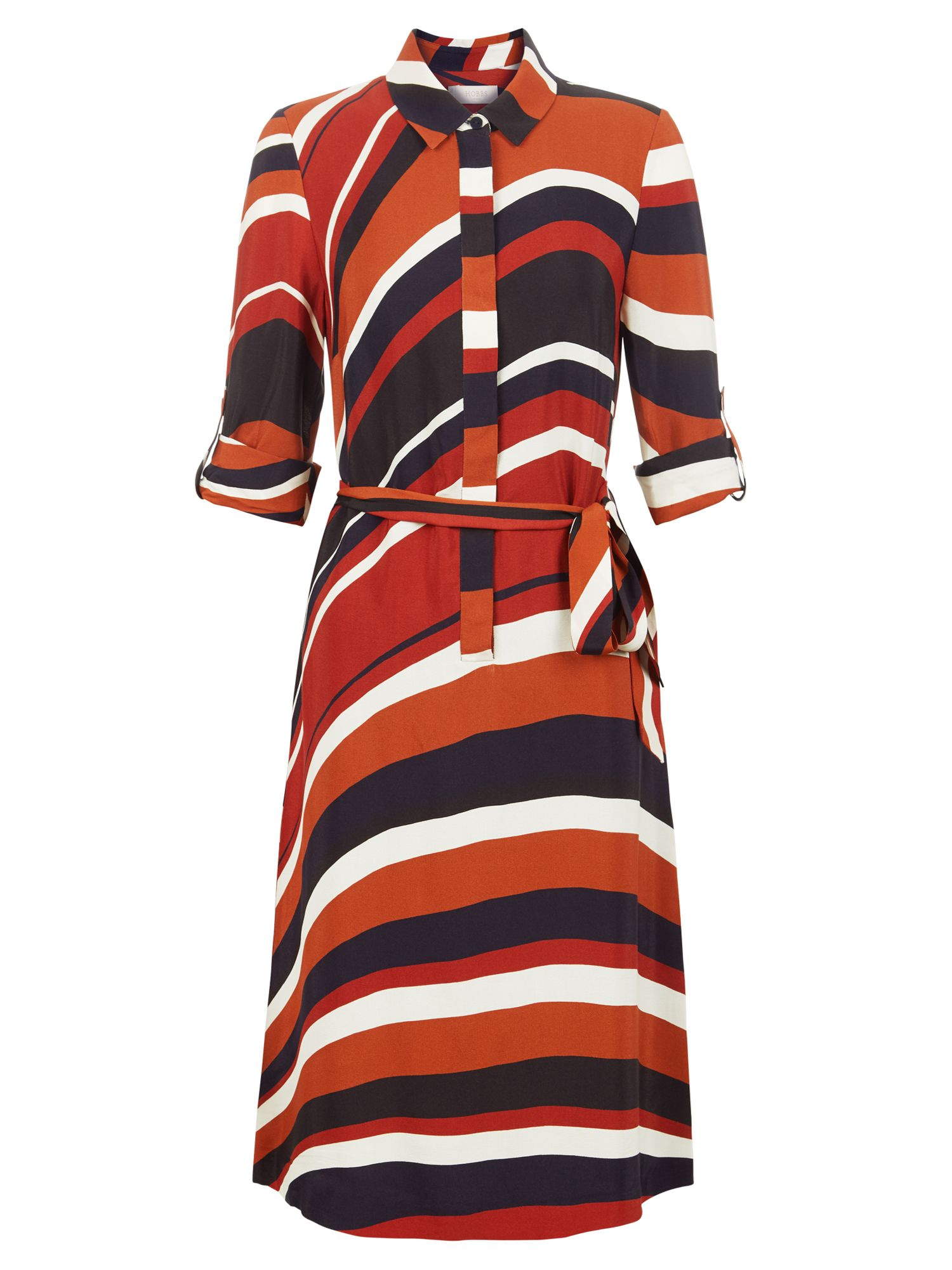 Hobbs Beatrice Dress, Multi-Coloured