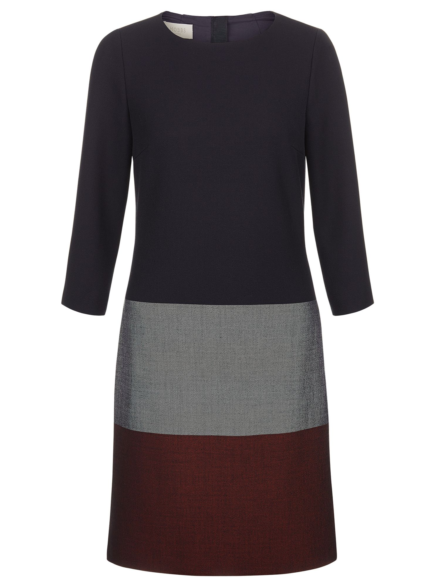 Hobbs Simone Dress, Multi-Coloured