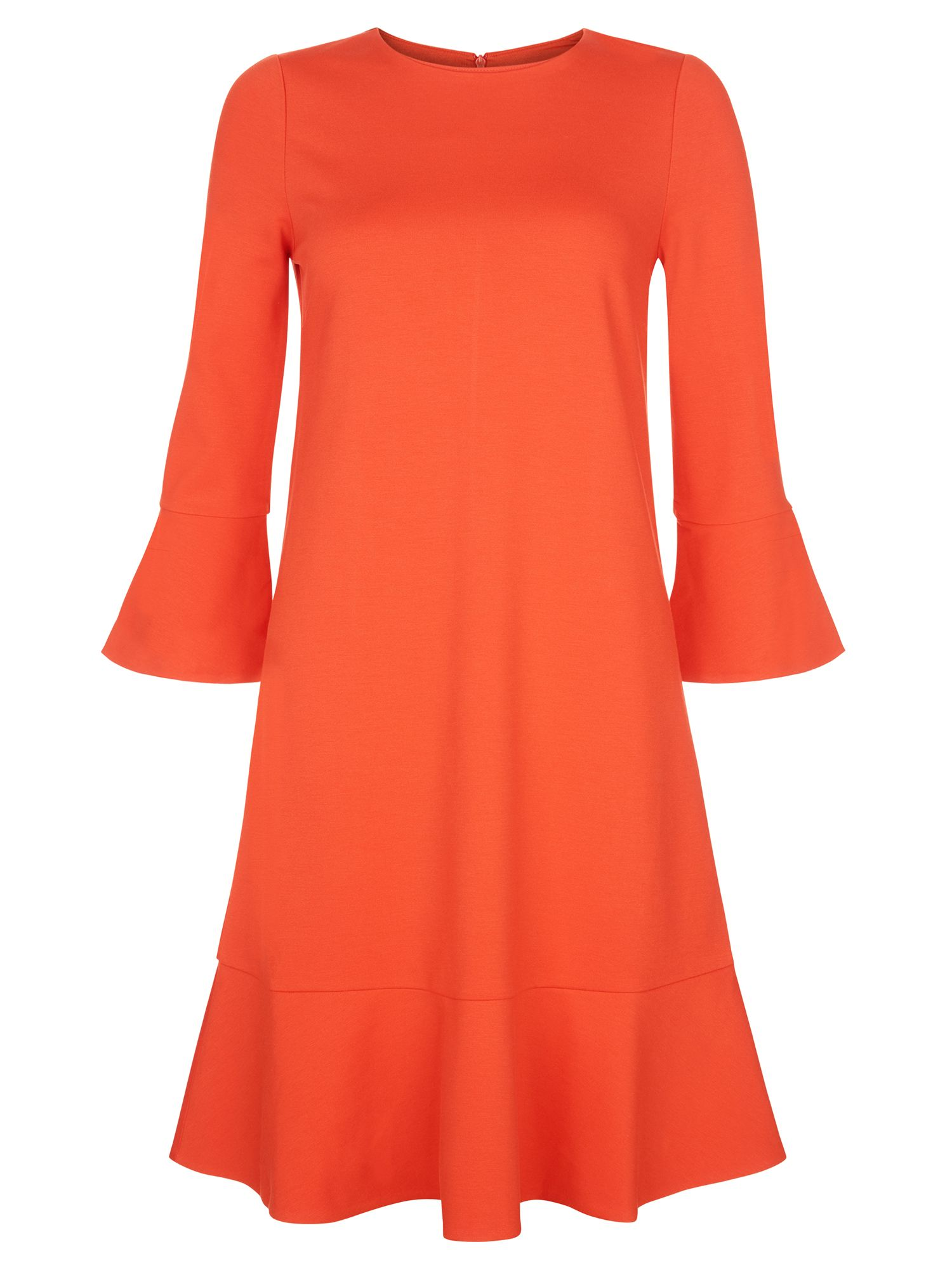 Hobbs Tulip Dress Orange