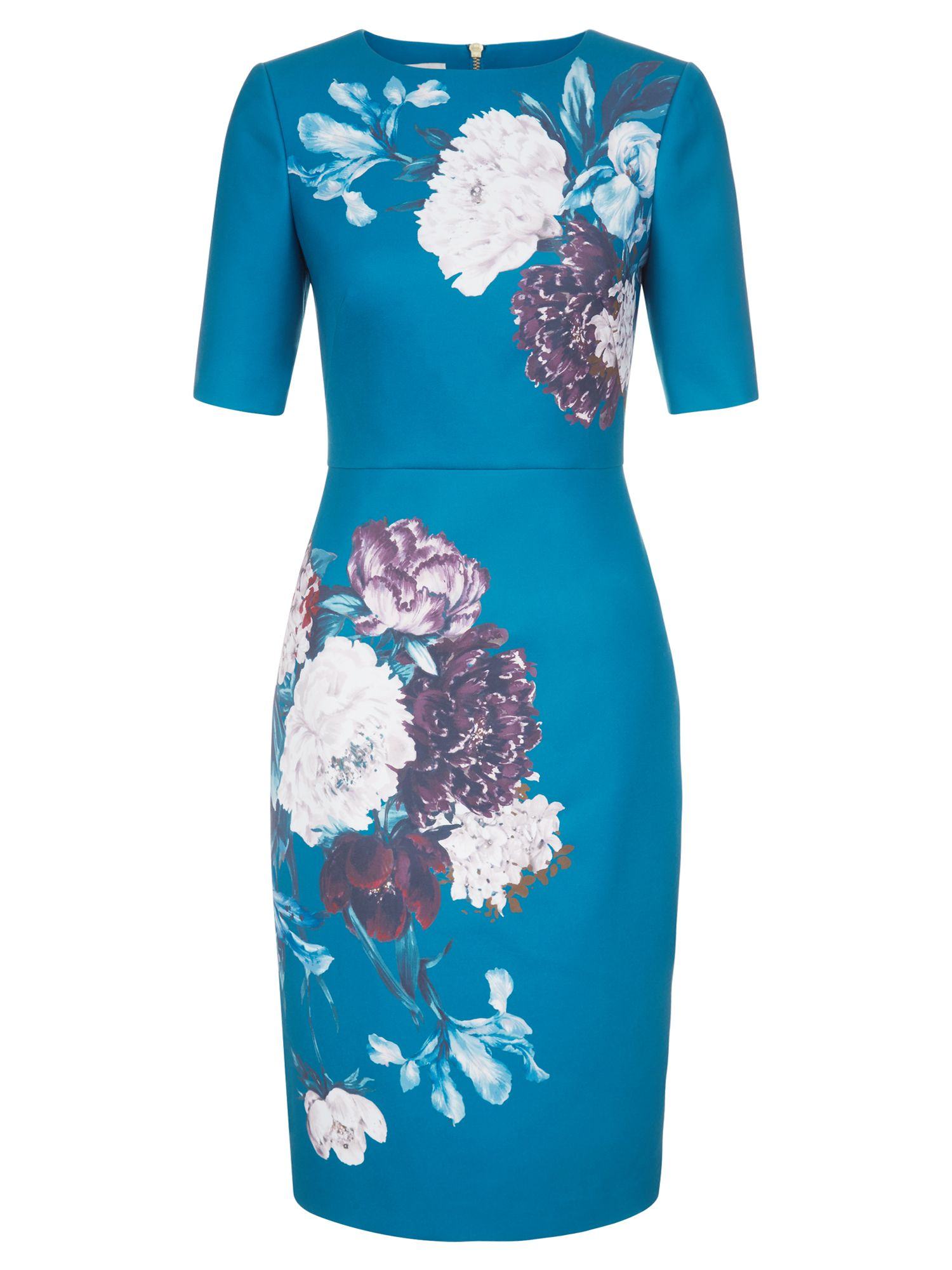 Hobbs Hazel Dress, Multi-Coloured