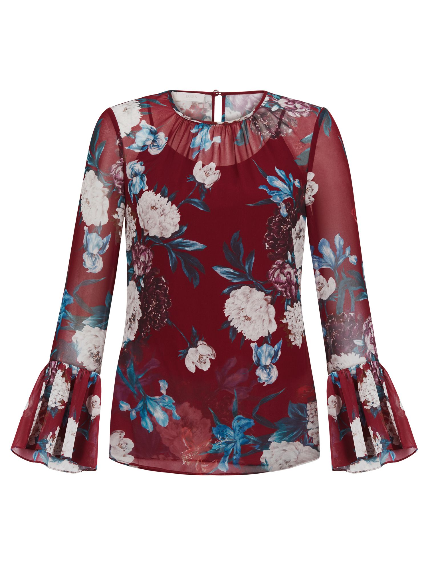 Hobbs Malin Blouse, Multi-Coloured