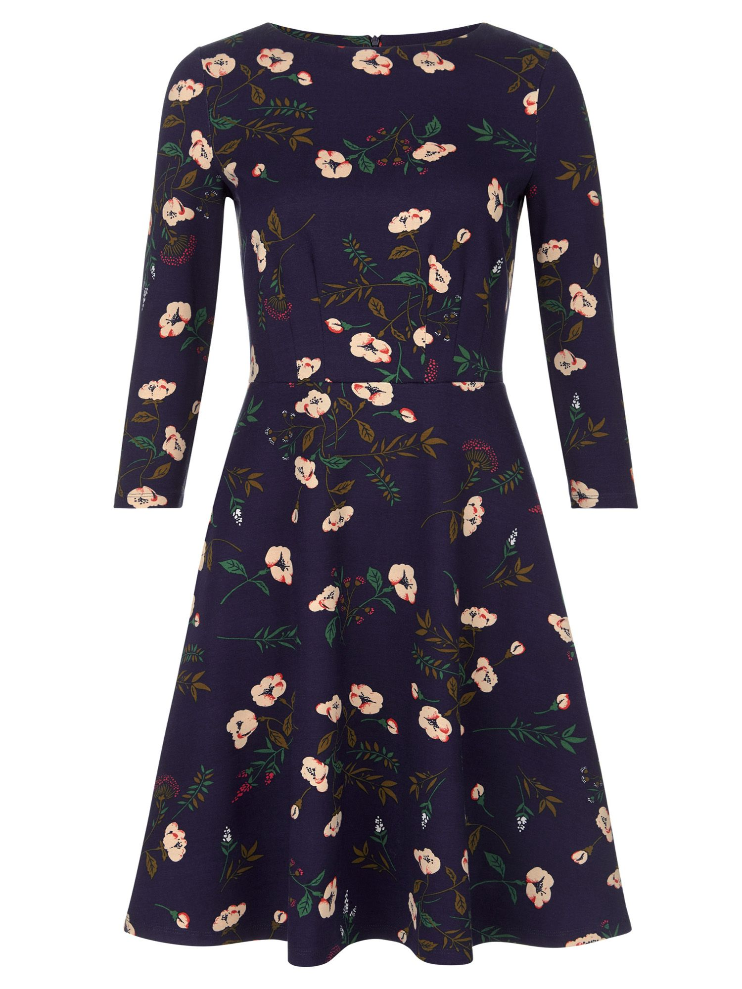 Hobbs Telula Dress, Multi-Coloured