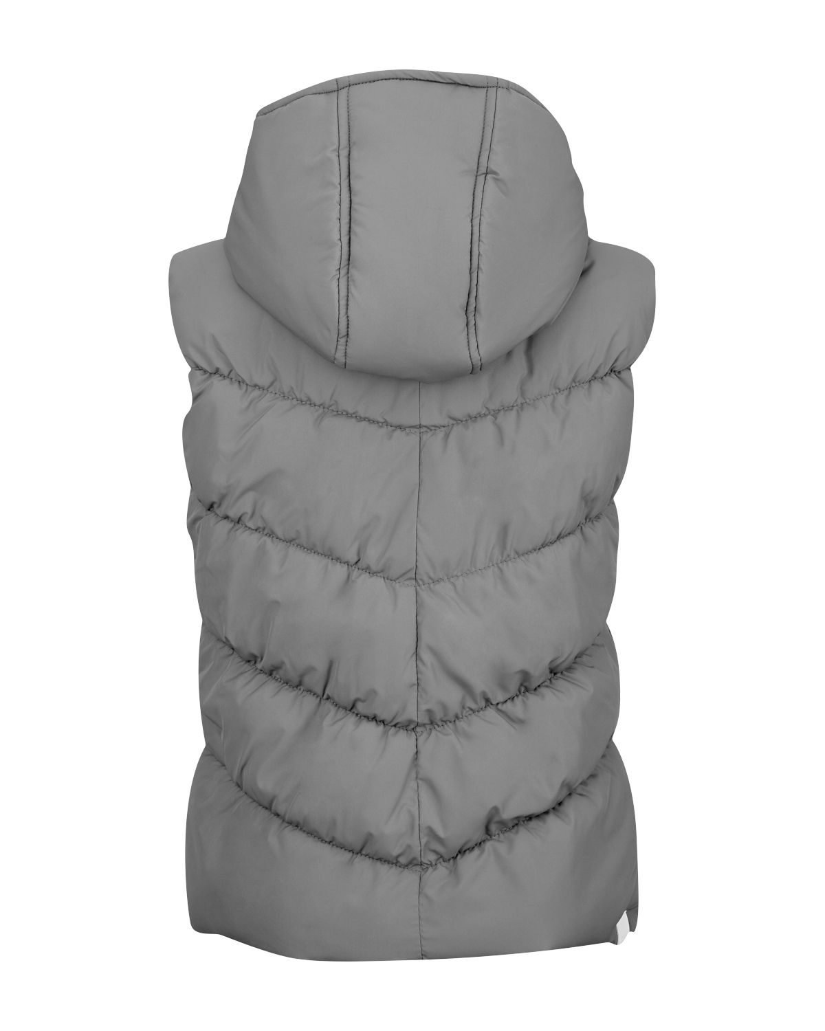 Girl`s ghostoff contrast heavy gilet
