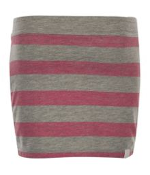 Girl`s striperamam mini skirt