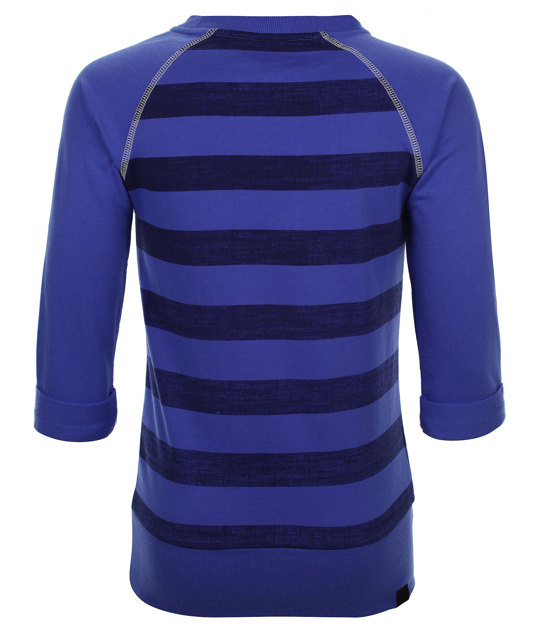 Girls storytimer striped sweatshirt