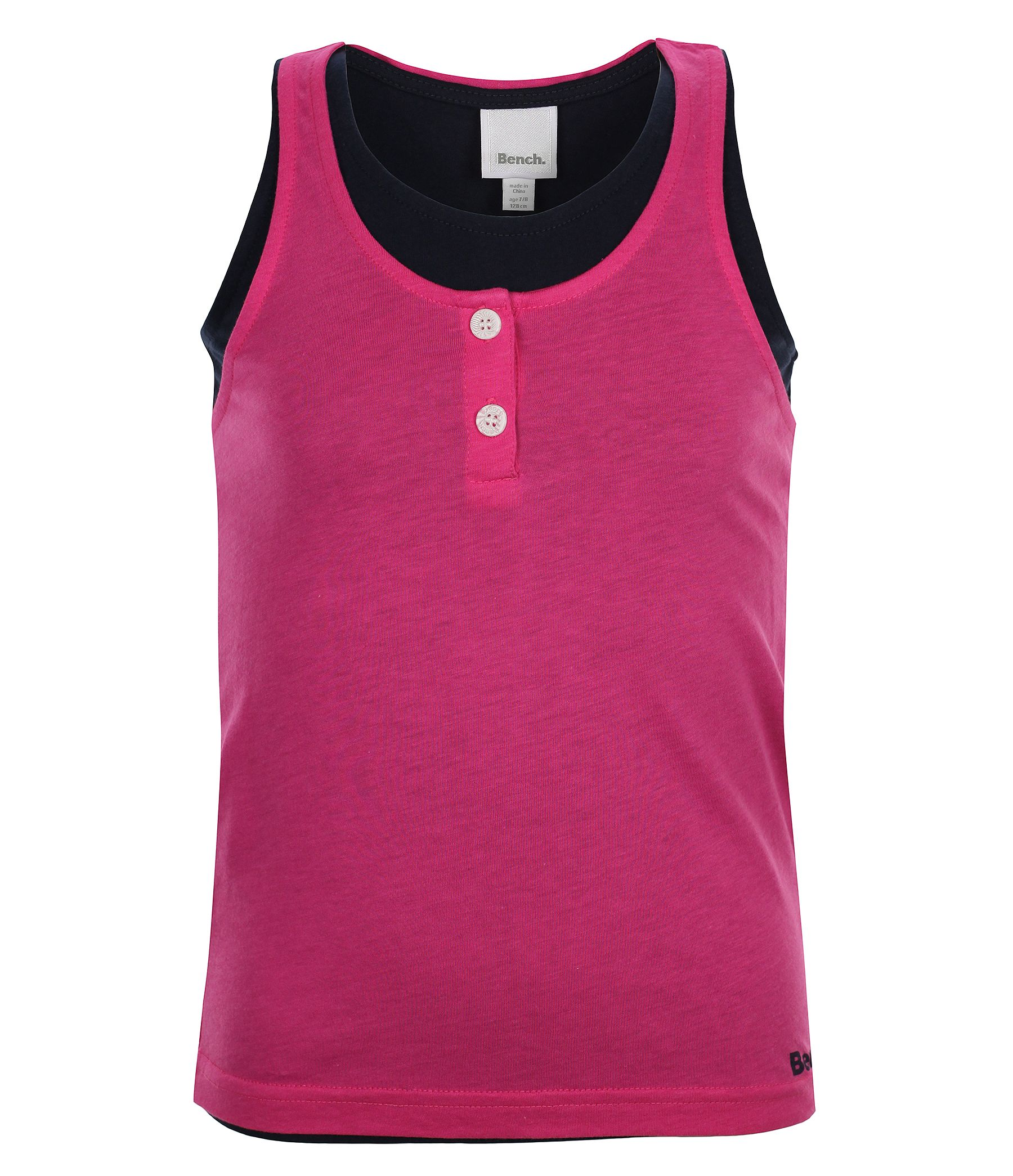 Girls versavice b double layered vest top