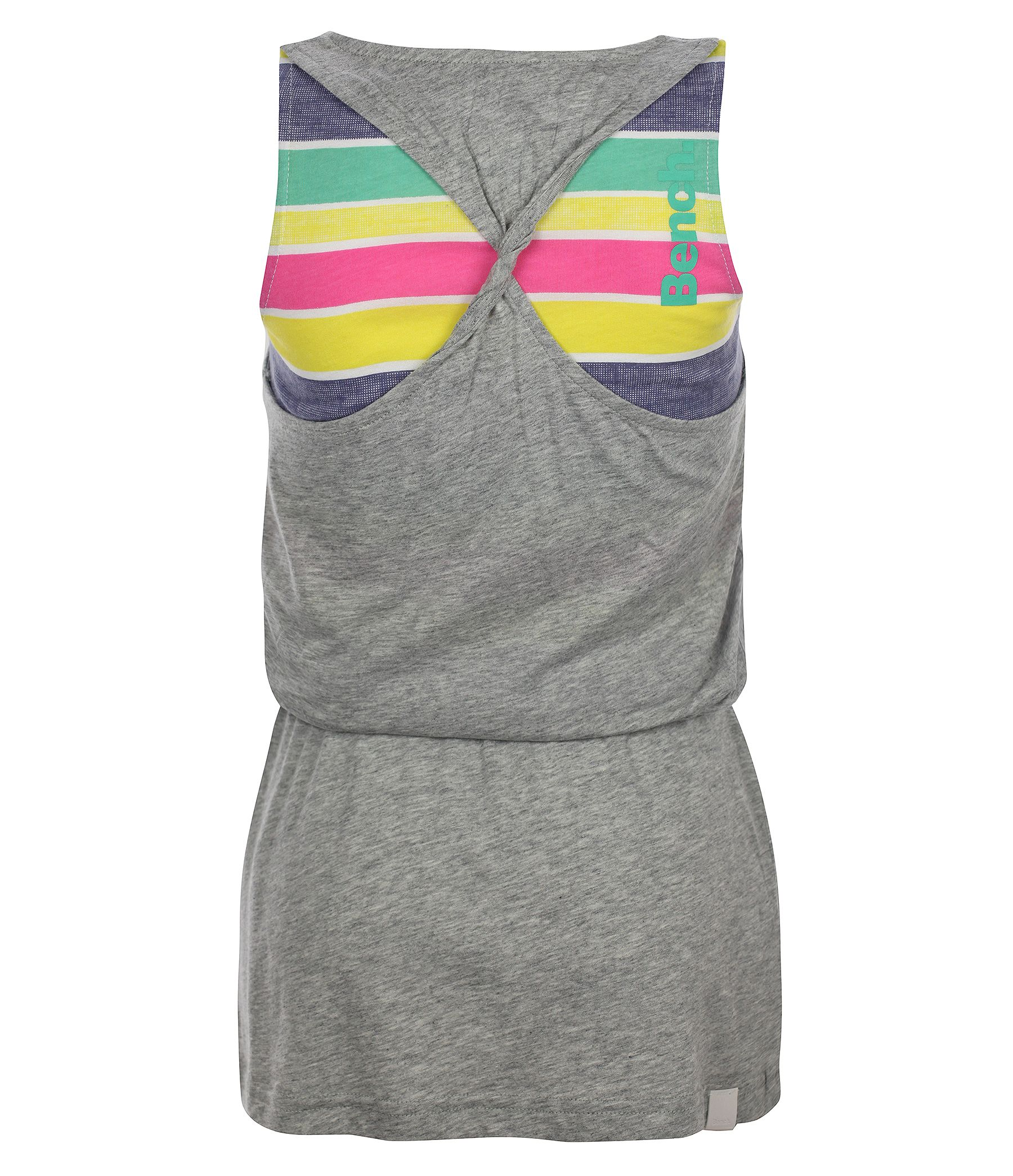 Girl`s two layer b racerback vest dress